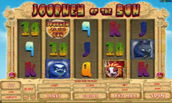 Journey of the sun slot