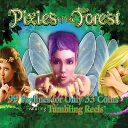 Новинка от IGT - автомат Pixies of the Forest