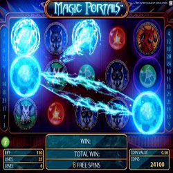 Игровой автомат Magic Portals от компании Net Entertainmen уже в онлайн казино!
