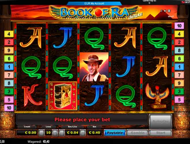 book of ra gaminator free download