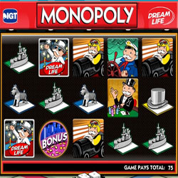 Сыграй в монополию на автомате Monopoly Dream Life